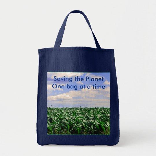 Saving the Planet grocery bag