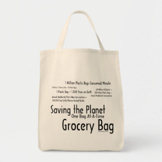 Saving the Planet One Bag At-A-Time Grocery Bag 1