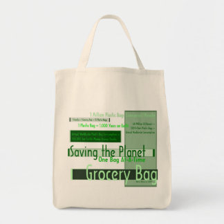 Saving the Planet One Bag At-A-Time Grocery Bag 4
