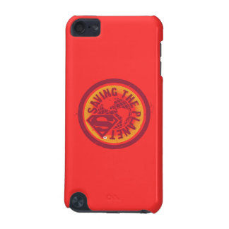 Saving the planet red circle iPod touch 5G cover