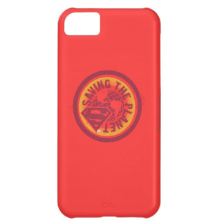 Saving the planet red circle iPhone 5C case