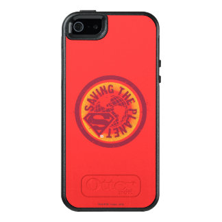 Saving the planet red circle OtterBox iPhone 5/5s/SE case