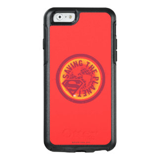 Saving the planet red circle OtterBox iPhone 6/6s case