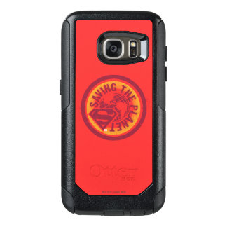 Saving the planet red circle OtterBox samsung galaxy s7 case