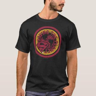 Saving the planet red circle T-Shirt