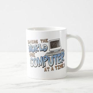 Saving theWorld Coffee Mugs