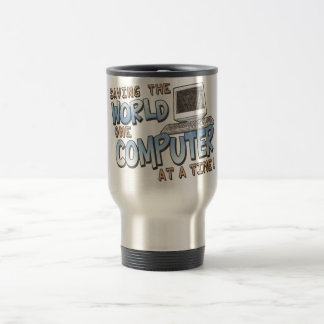 Saving theWorld Stainless Steel Travel Mug