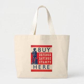 Savings Stamps World War 2 Bag