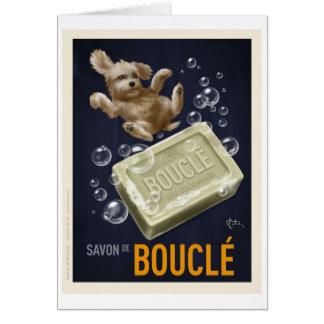 Savon De Boucle Card