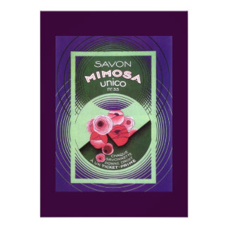 Savon Mimosa 55 Card