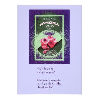 Savon Mimosa 55 Custom Invite
