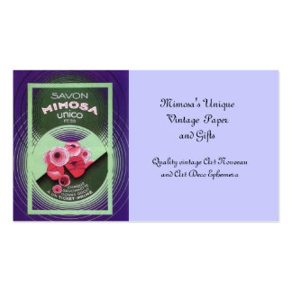 Savon Mimosa 55 Pack Of Standard Business Cards