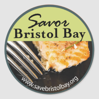 Savor Bristol Bay Sticker