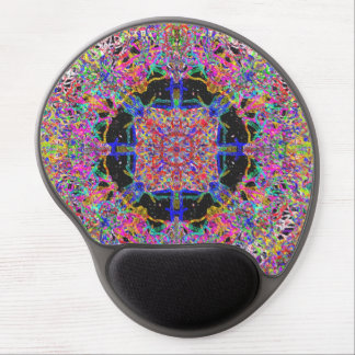 Savour The Gooey Detail A Sweet Candy Mandala Gel Mouse Pad