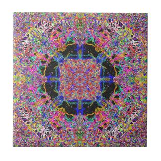 Savour The Gooey Detail A Sweet Candy Mandala Tile