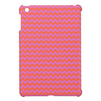 Savvy Case, iPad Mini, Magenta and Orange Chevrons iPad Mini Cases