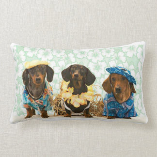 Savvy Dachshunds Lumbar Cushion