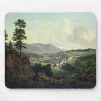 Saw Mill in Norway, 1827 Mouse Mat
