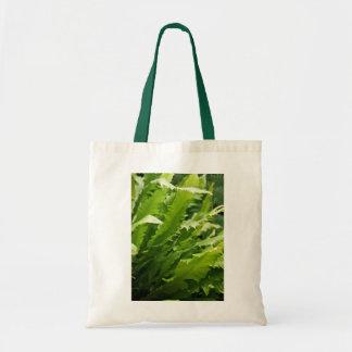 Saw Tooth Kelp Fern Tote Canvas Bag