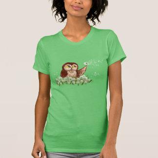 Saw-whet owl dandelion T-Shirt