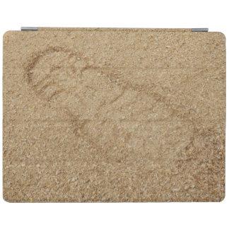 Sawdust Boot Print iPad Cover