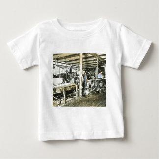 Sawmill Workers Magic Lantern Slide 6 T Shirt