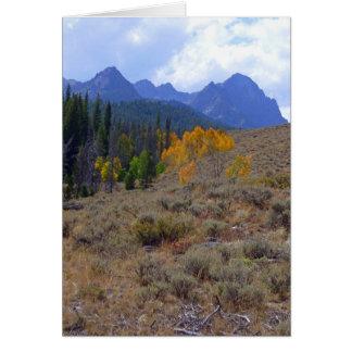 Sawtooth Mountains Card