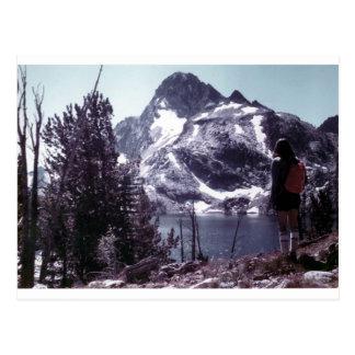 Sawtooth Mountains Idaho Postcard
