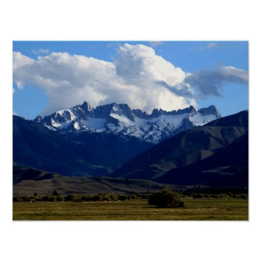 Sawtooth Ridge Poster