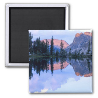 Sawtooth Wilderness, Idaho. USA. Cumulus Fridge Magnet