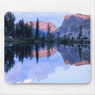 Sawtooth Wilderness, Idaho. USA. Cumulus Mouse Pad