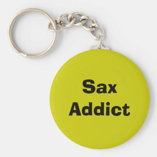 Sax Addict - saxophone Key Ring