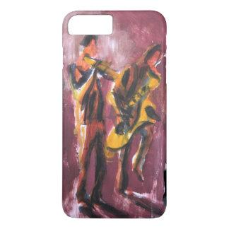 Sax and trumpet pair iPhone 8 plus/7 plus case
