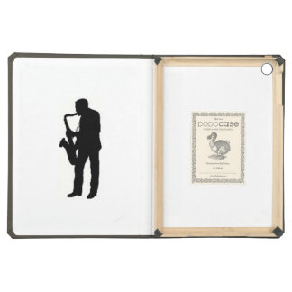 """Sax Player"" design Apple product cases iPad Air Case"