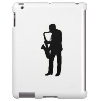 """Sax Player"" design Apple product cases iPad Case"