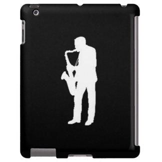 """Sax Player"" design Apple product cases iPad Case"