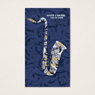 Sax Saxophone Player Music Artist Teacher Business Card