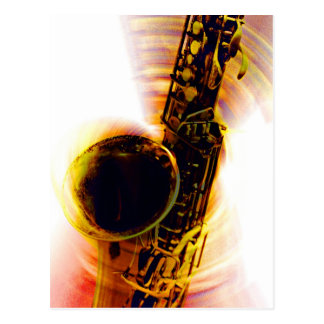 Sax Spin 1 Postcard
