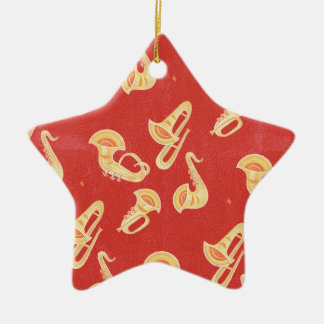Sax Tuba Trombone Trumpet Musical Instruments Christmas Ornaments
