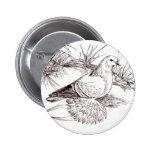 Saxon Field Pigeon Pinback Button
