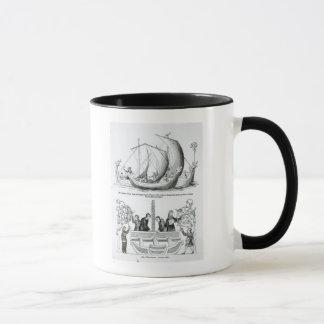 Saxon Ship Mug