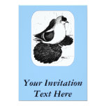 Saxon Swallow Pigeon 1978 Personalized Announcement