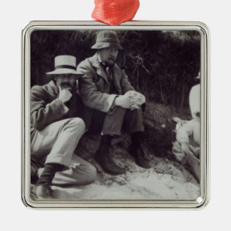 Saxon Sydney Turner, Clive Bell, and Julian Christmas Ornament