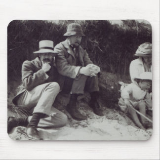 Saxon Sydney Turner, Clive Bell, and Julian Mouse Mat