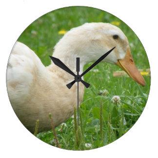 Saxony Duck Large Clock
