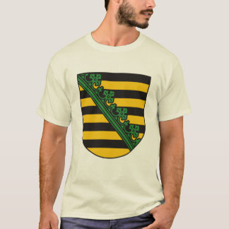 Saxony (Sachsen) Coat of Arms T-shirt