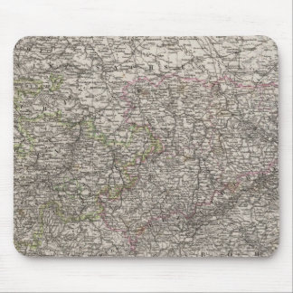 Saxony, Thuringen and neighboring Countries Mouse Mat
