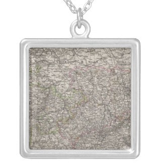 Saxony, Thuringen and neighboring Countries Silver Plated Necklace