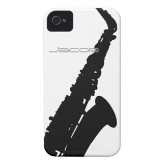 Saxophon iPhone 4 Cases