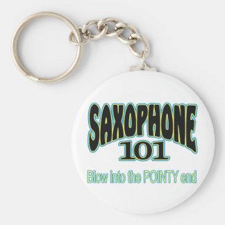 Saxophone 101 key ring
